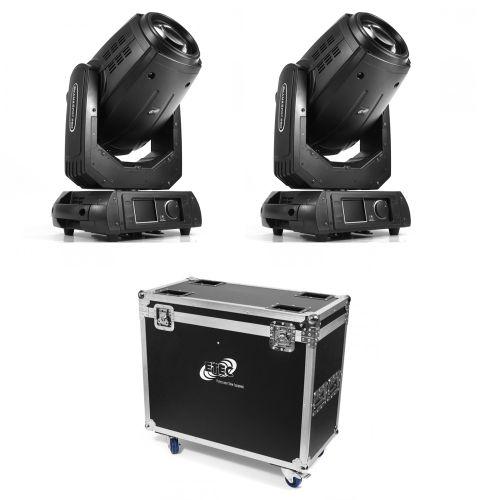 ETEC Pro Beam 280 Hybrid Moving Head Set mit Flightcase