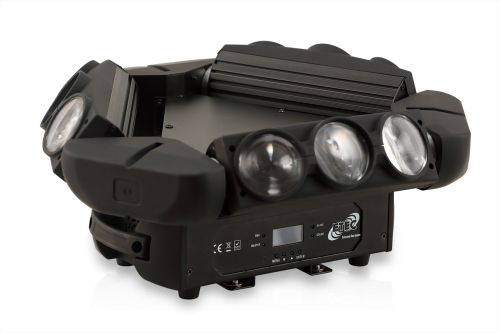 ETEC LED Kaos Triple Spyder Moving Head 9x12W CREE 4in1