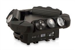 ETEC LED Kaos Triple Spyder Moving Head 9x12W CREE 4in1
